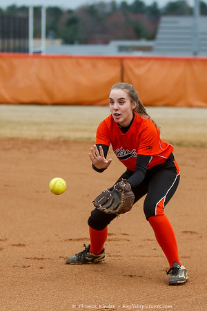 Varsity Softball v CD Hylton 3/25/19