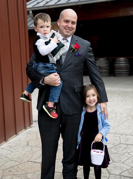 Brides son with Grandchildren.jpg