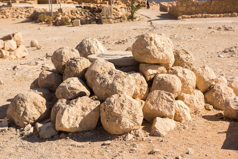 Roman Catapult Rocks