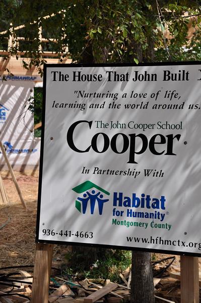 2009 TWUMC Habitat Team at Cooper House