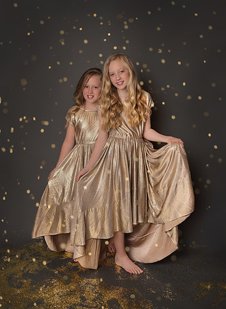Abby & Emily - Glitter Session 2019