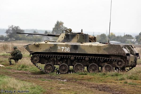137th Guards Airborne Regiment tactical exercises