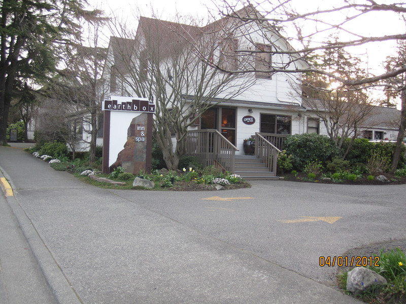 Our hotel in Friday Harbor