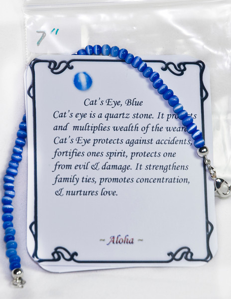 Blue Cat's Eye