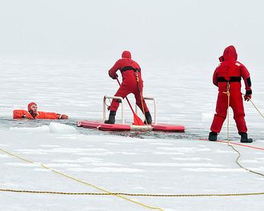 WHBFD Ice Rescue Drill 2-14