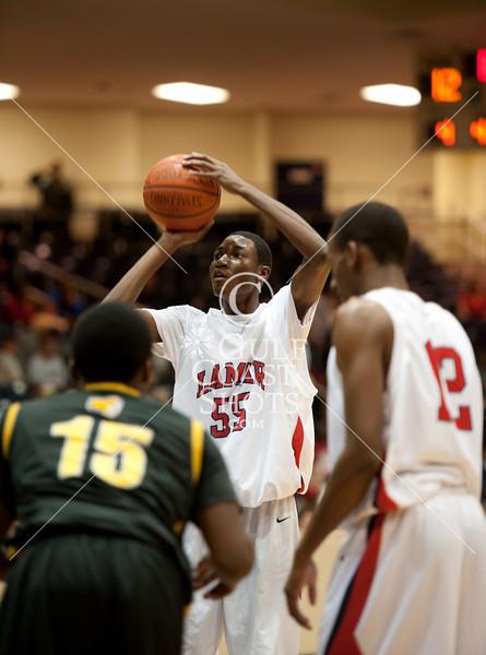 2011-02-25 Basketball Varsity Boys Lamar v Alief Hastings @ Coleman