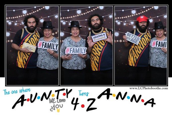 The one where Aunty Anna turns 42