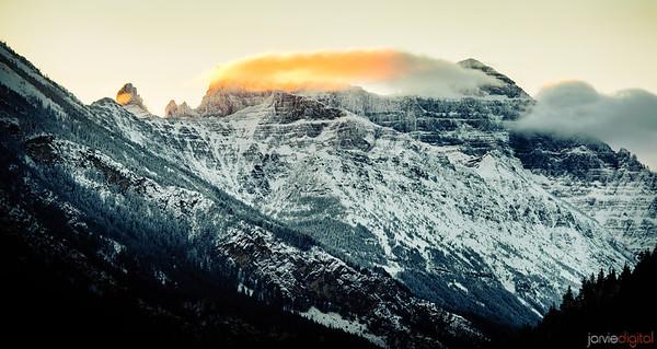 Alberta in the Winter