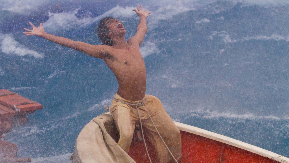 ". Sura Sharma as Pi Patel in ""Life of Pi\"""