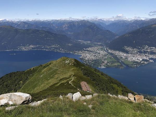 Peak of Monte Gambarogno, Lake Maggiore. Source: mendrisiottoturismo.ch