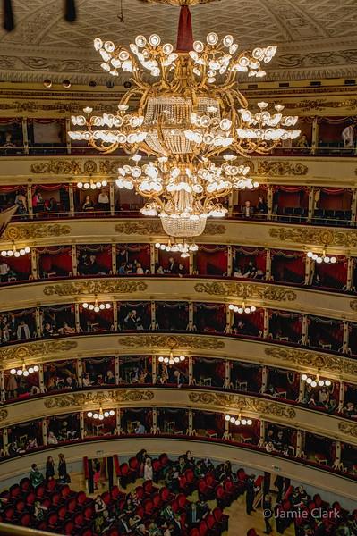 La Scala, Milan, Italy, October 2017