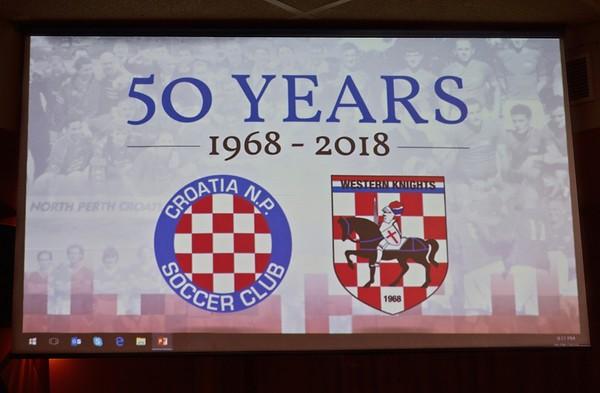 Western Knights Soccer Club 50th Anniversary Gala Ball 2018