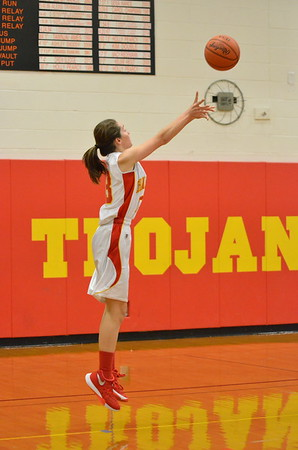 CMS 7th grade girls hoops vs Mattoon  November 6, 2015