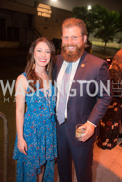 Laura Galaida, Todd Galaida, The Phillips Collection, Annual Gala Afterparty, Contemporaries Bash, Union Market Dock 5. May 10, 2019, Photo by Ben Droz.