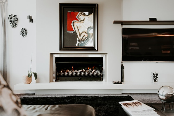 Decorating Tips to Update Your Living Room: New Paint, a Fireplace Mantel and More