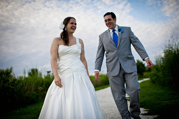 Stacie and Matt at Byron Colby Barn