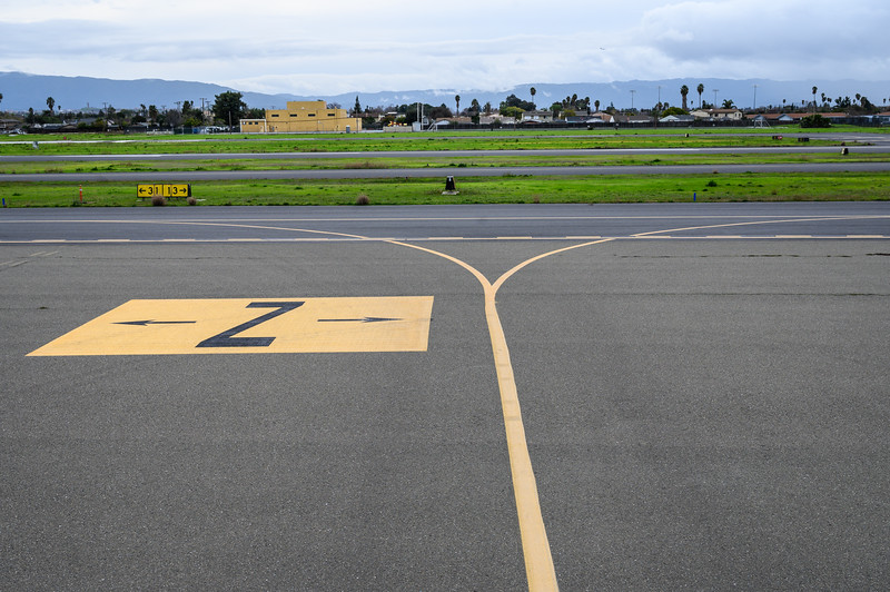 Taxiway Z Direction Signs