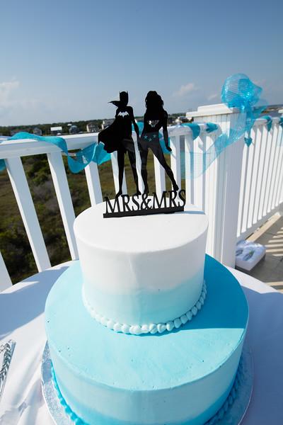 Kris & Aliana Wedding Topsail Beach NC