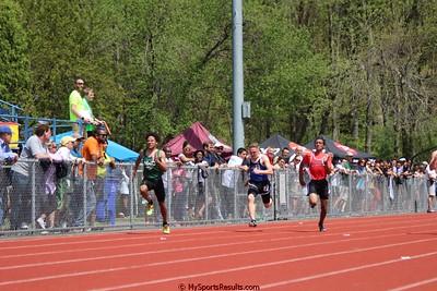 Boys 100m Dash Prelims