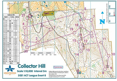 11 July 2021 Collector Hill