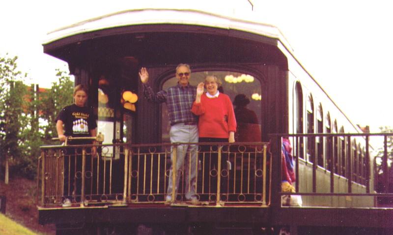 Wayne & Bonnie on back of train in Park at Fairbanks, AK. -1.jpg