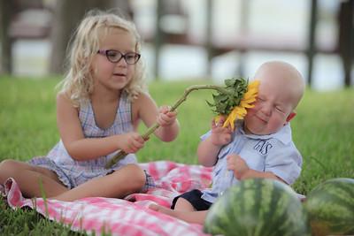 Grayson and Ella's Summer Mini-Session