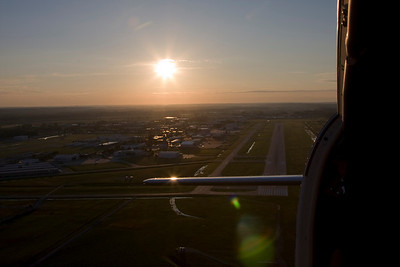 N9833A Cessna 195 Air to Airs