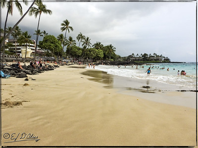 Magic Sands Beach Park Hawaii Big Island