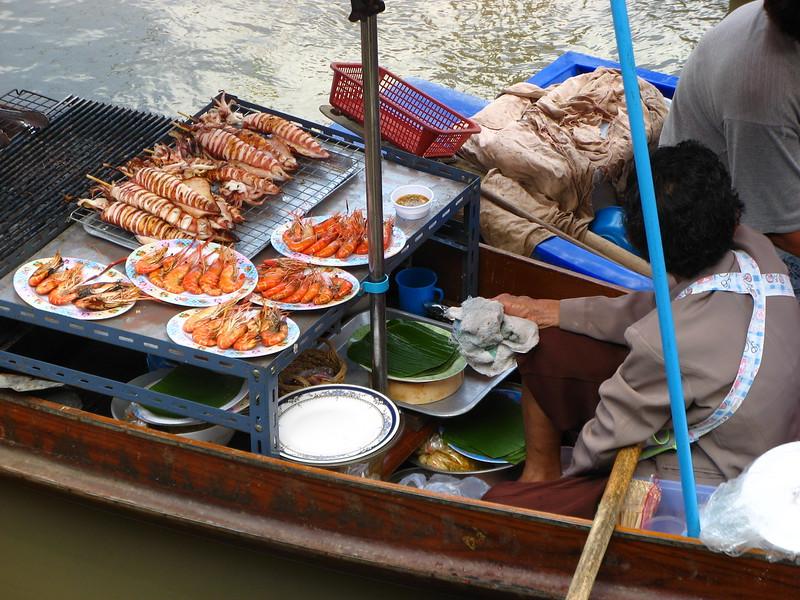 Seafood treats.