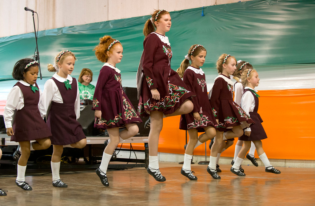 . The Murphy Irish Dancers perform at the 2014 Ohio Celtic Festival on June 28 at the Lake County Fairgrounds in Painesville Township. This year\'s festival is Aug. 10-12 at the fairgrounds. For more information, visit ohiocelticfestival.com.  (News-Herald file)