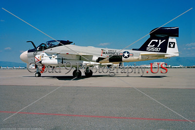 US Marine Corps Grumman EA-6A Electric Intruder Military Airplane Pictures
