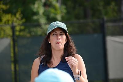 Queens women's tennis fall 2018