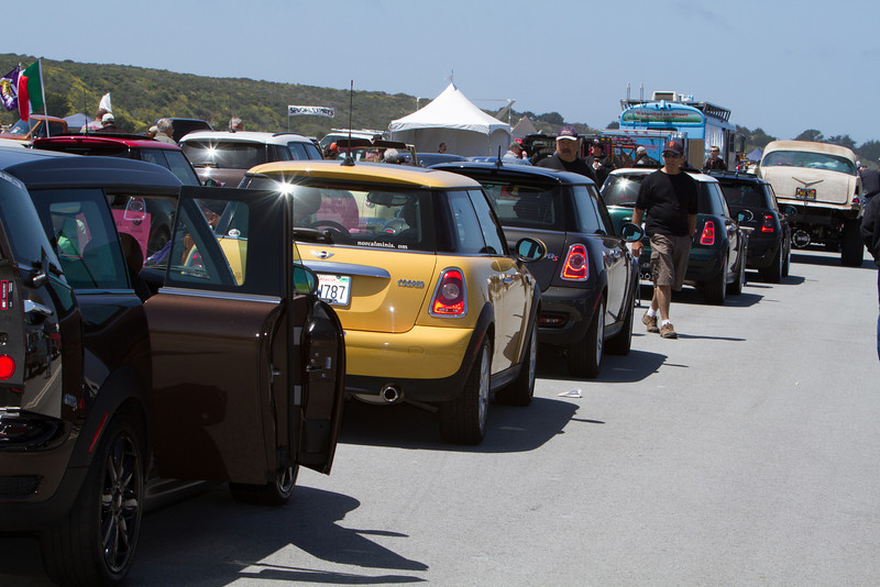 The Clubman anchored the line of MINIs.