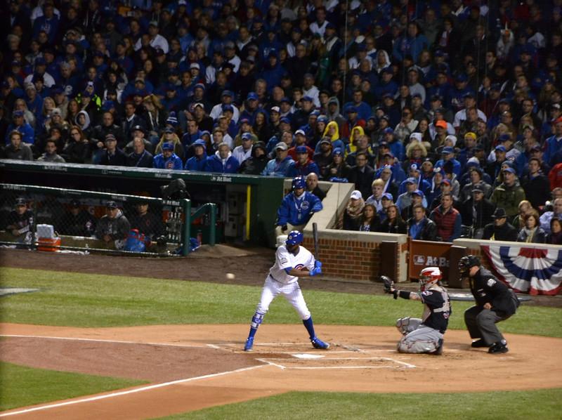Cubs center fielder Dexter Fowler.