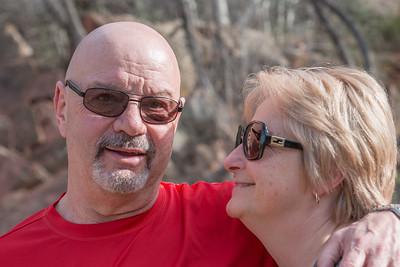Rachel and Jerry Sedona Mar'2016
