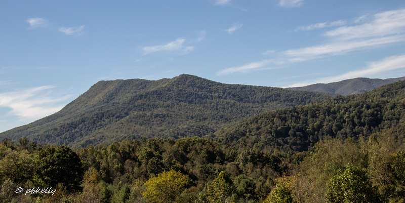 Scenic overlook in N. Carolina on the way home.