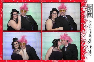 Windsor, Ont;  Precision Partners,  2017  Christmas Party, Photo booth rental