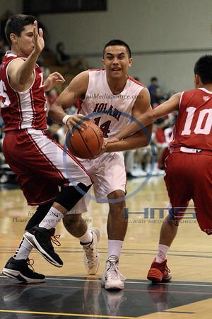 Iolani Boys Basketball - Lah 2-20-14