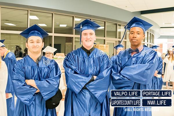 Lake Central High School Graduation 2017