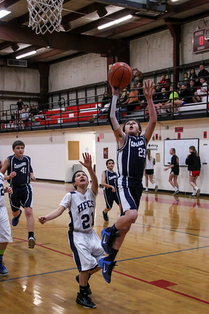 Feb 26 - BBall - 6th Gr Boys vs Holy Family