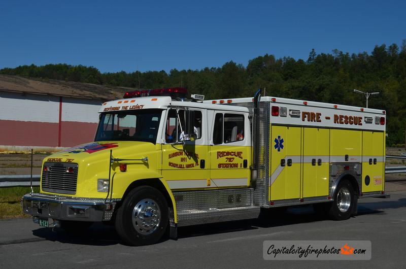 Schuylkill Haven (Rainbow Hose Co. 1) Rescue 727: 1995 Freightliner/American Fire & Rescue (X-Magnolia, DE)