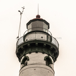 Presque Isle Lighthouses (old & new)
