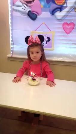 Ella's 3rd Birthday
