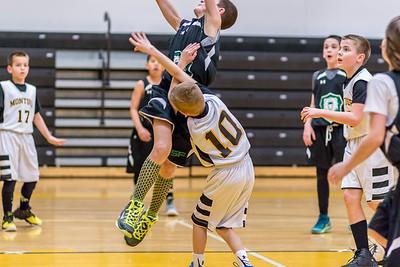 Parker - Montour Basketball