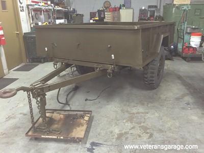 M101 Trailer (with Gas Tank) Restoration