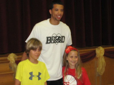 Sixers' Carter-Williams visits GMAE