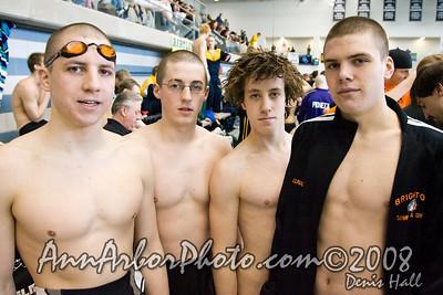 State Swimming Championship @ Oakland University, Mar.7-8, 2008