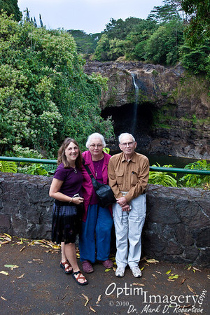 February 4, 2010:  Hilo with Mom and Dad