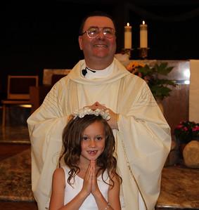 Maddie's 1st Communion 5-14-2011