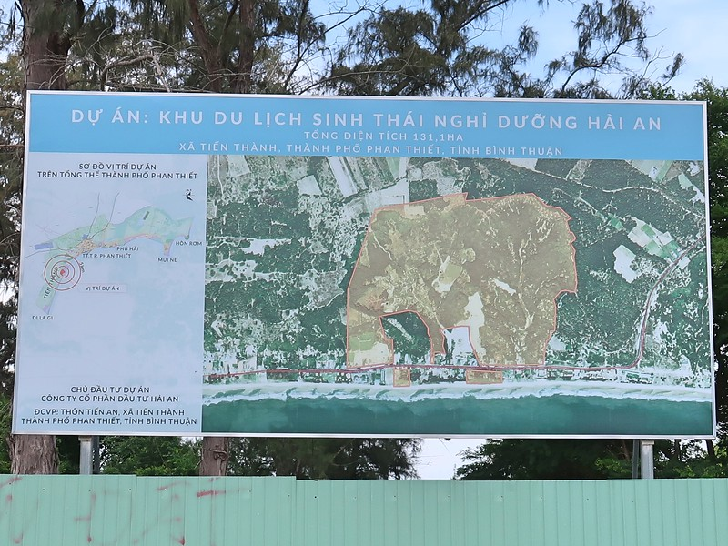 Project of Hai An eco-tourism resort